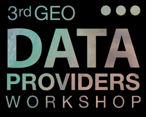 3rd GEO Data Providers Workshop @ ESA in Frascati, Italy
