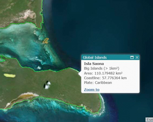 A New Global Shorelines and Global Islands Publication, Data, and Online Explorer Tool