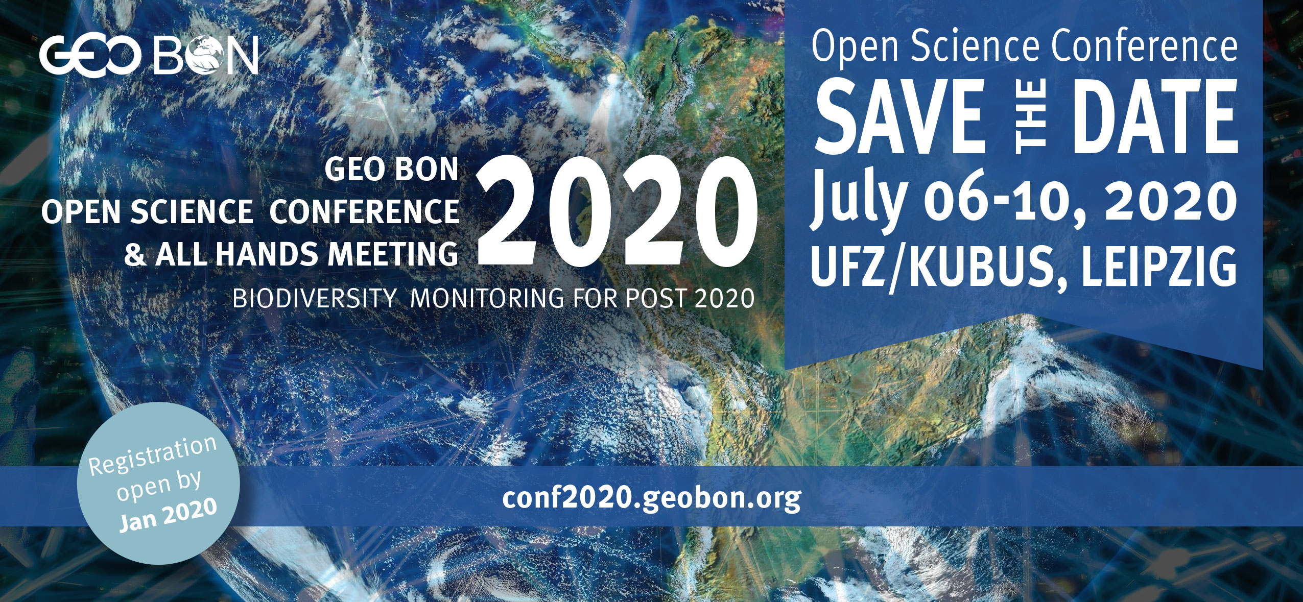 GEO BON OPEN SCIENCE CONFERENCE 2020