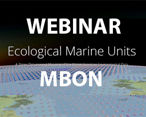 Recording of the MBON webinar to Ecological Marine Units online