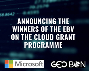 Microsoft and GEO BON announce the winners of the Essential Biodiversity Variables on the Cloud Grant Programme